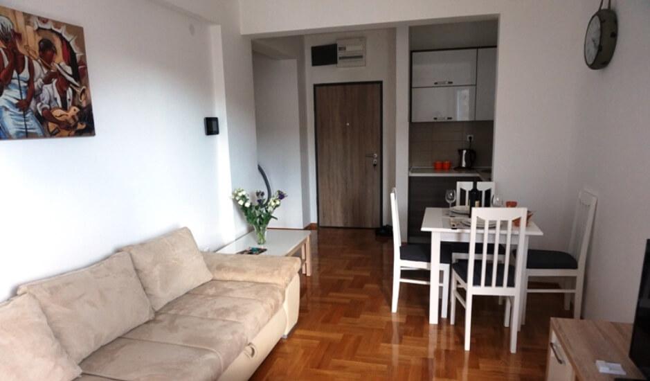 Уютная новая квартира на 4х человек