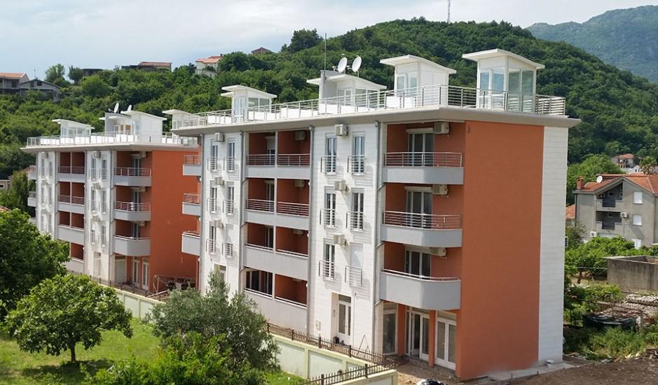 Новый жилой комплекс в районе Герцег Нови