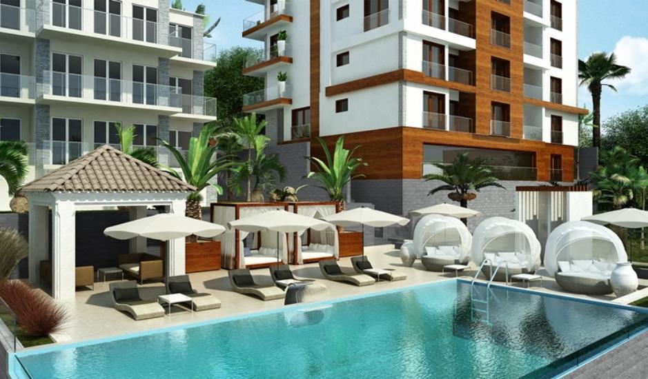Новые квартиры с 2 спальнями в Бечичи