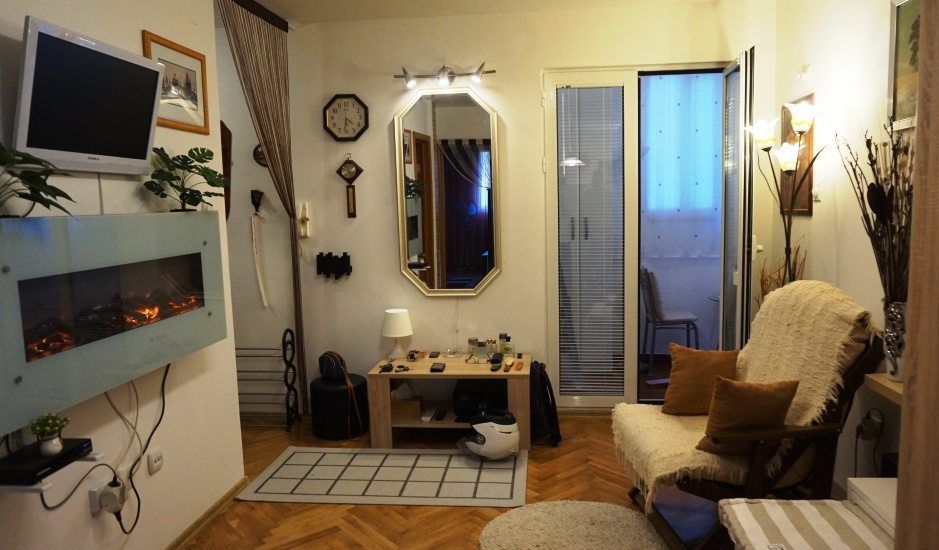 Уютная квартира с двориком в Будве