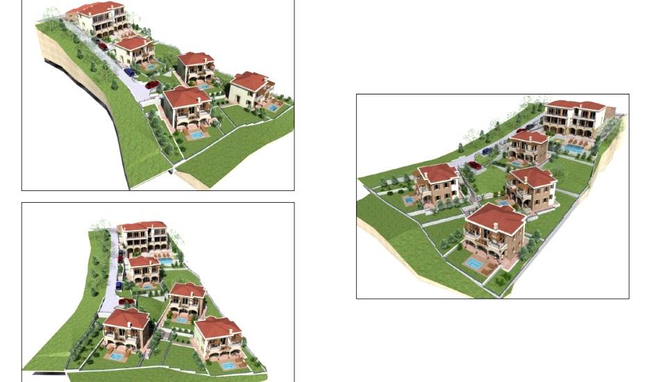 Участки с проектом в коттеджном посёлке Сеоце
