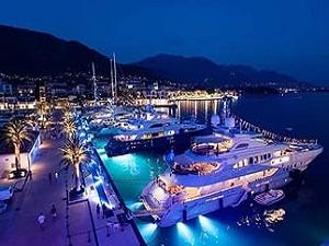Черногория, поселок яхтсменов Porto Montenegro