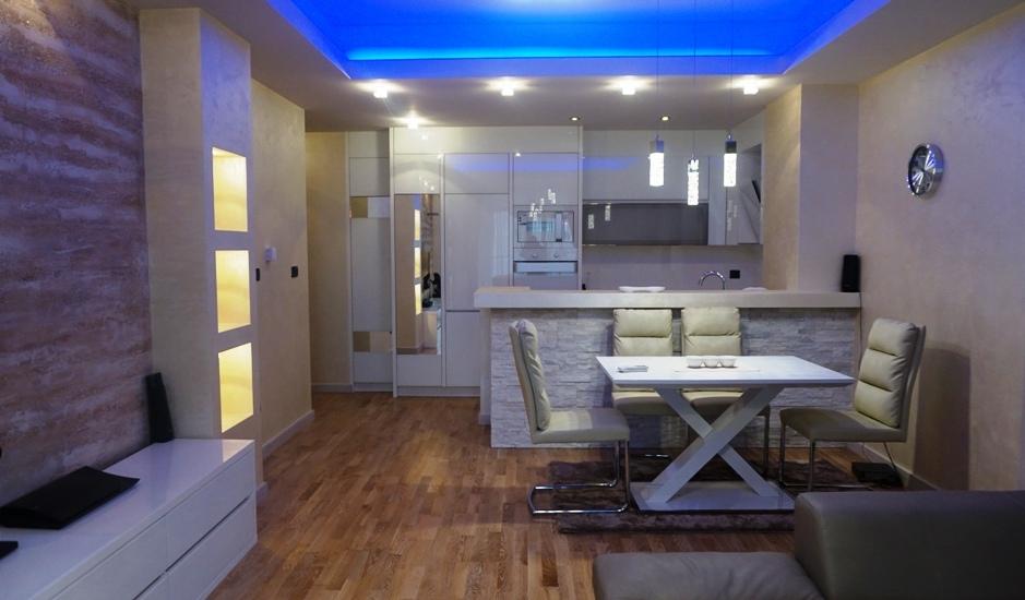 Современная квартира с 2 спальнями