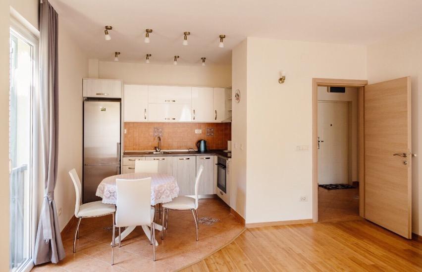 Меблированная квартира в Тивате Селяново