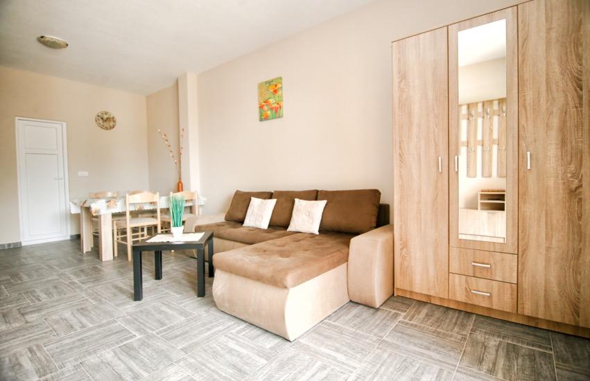 Квартира в зеленом районе Тивата