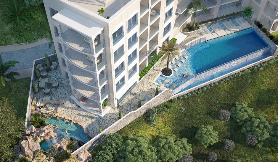 Новый luxury жилой комплекс закрытого типа в Бечичи