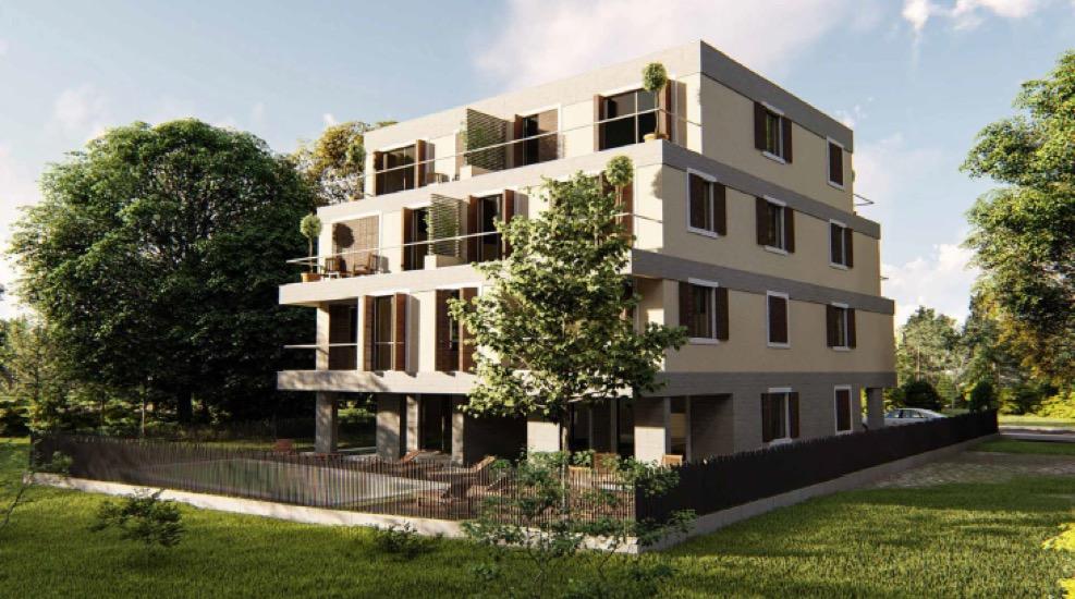 Новые квартиры в 50 метрах от моря в Тивате