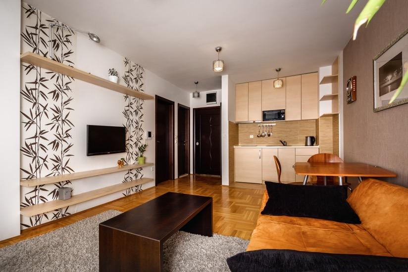 Квартира с одной спальней в центре Будвы