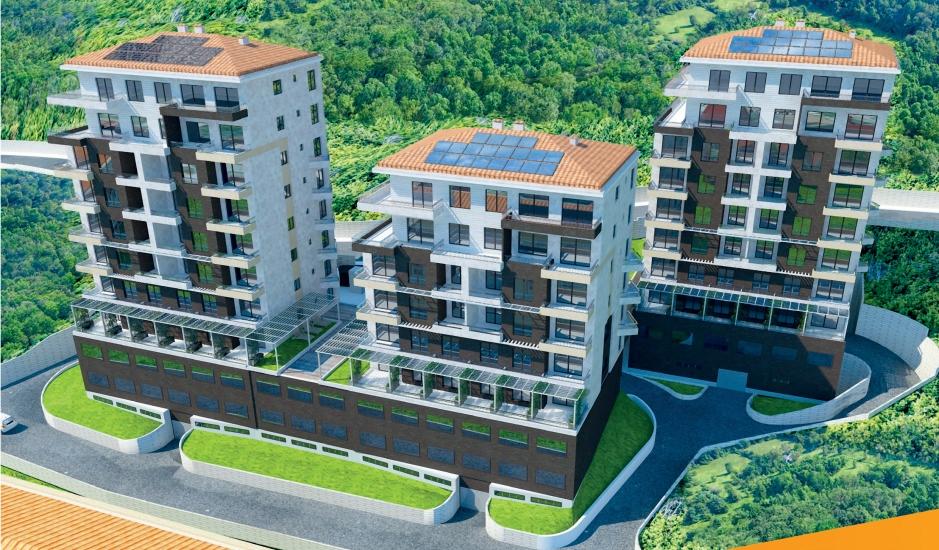 Готовые квартиры с 1 спальней различной структуры в Будве