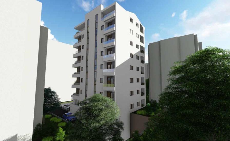 Квартиры с 1 спальней в новом доме в Будве
