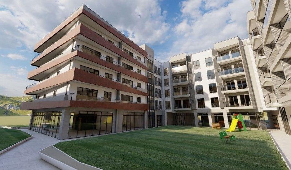Квартиры различной планировки в новом доме в Тивате